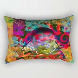 Lost in the Jungle Rectangular Pillow