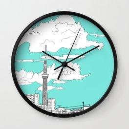 Tokyo Sky Tree Wall Clock