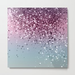 Unicorn Girls Glitter #6 #shiny #pastel #decor #art #society6 Metal Print