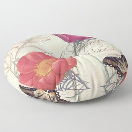 Petals of Paris I Floor Pillow