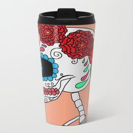 Day of the Dead Metal Travel Mug