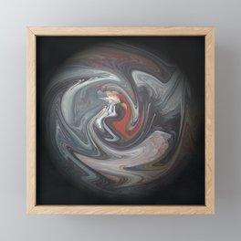 Abstract 132 Framed Mini Art Print