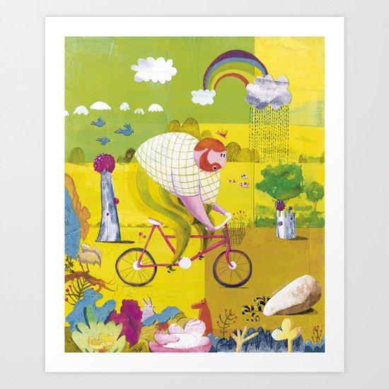 BYKE Art Print