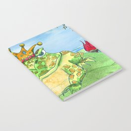 Frog King Notebook