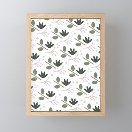 Foliage Framed Mini Art Print