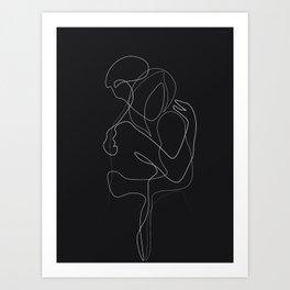 Lovers DarkVersion Art Print
