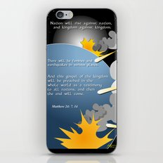 Nation Will Rise Against Nation iPhone & iPod Skin