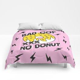 Bad Cop No Donut Black Lives Matter Print Against Police Brutality Comforters