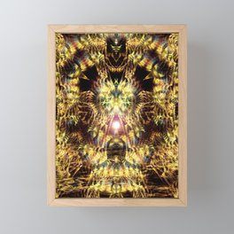 DMT Shaman Visions Framed Mini Art Print