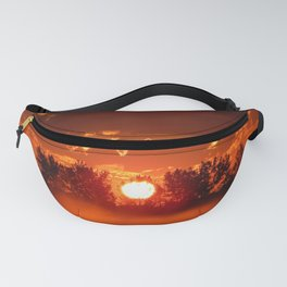 Ghost Horses of the Misty Dawn Fanny Pack