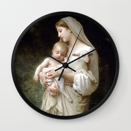 "William-Adolphe Bouguereau ""L'Innocence (Innocence)""(1893) Wall Clock"