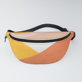 Abstraction_Mountains Fanny Pack
