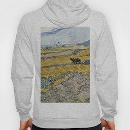 "Vincent van Gogh ""Enclosed field with ploughman"" Hoody"