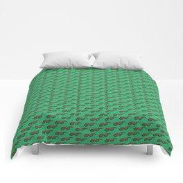 Green Pattern Comforters