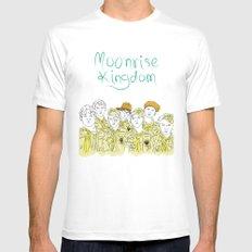 Moonrise Kingdom MEDIUM White Mens Fitted Tee