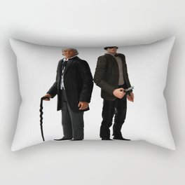 The Two Doctors Rectangular Pillow
