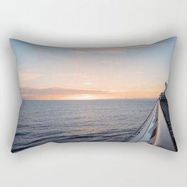 Cruising Into Tomorrow Rectangular Pillow
