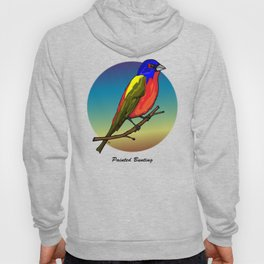 PAINTED BUNTING Hoody