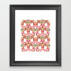 Bright Fern  Framed Art Print