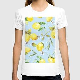 Watercolor lemons 10 T-shirt
