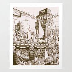 The Tilhilnilian Highway Art Print