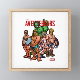Randy's Avengebears Framed Mini Art Print