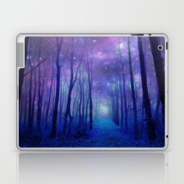 Fantasy Path Purple Blue Laptop & iPad Skin