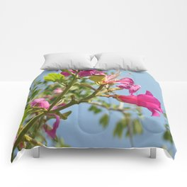 Romantic flowers Comforters
