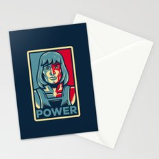 Power....he has it! Stationery Cards