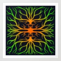 Carrot Virus Art Print