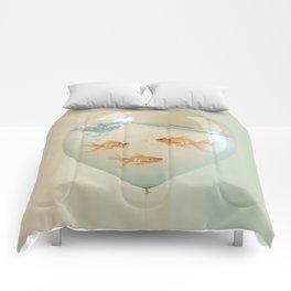 balloon fish 02 Comforters