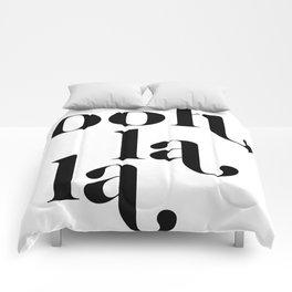ooh la la Comforters