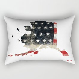 ALASKA FLAG Rectangular Pillow