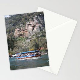 Quintessentially Dalyan: River Boats and Rock Tombs Stationery Cards