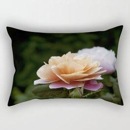 Lily Pad Rose Rectangular Pillow