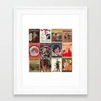 pulp Framed Art Prints featuring pulp by Jeni Decker