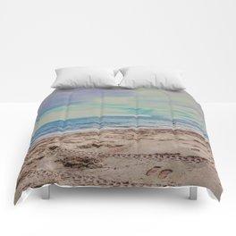 Pastel Beach Comforters