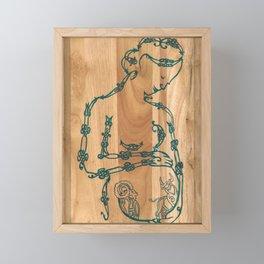 A Mother's Hope (Celtic knots zodiac) Framed Mini Art Print