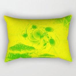 Radioactive mushroom landscape Rectangular Pillow