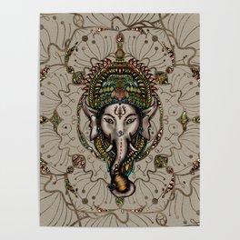Lord Ganesha - Canvas Lord Ganesha - Canvas Poster