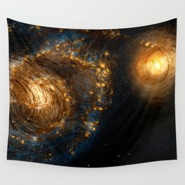 Starry Galaxy Night Wall Tapestry