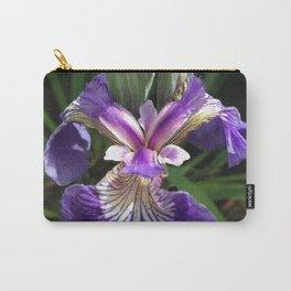 Alaska Wild Iris by Mandy Ramsey, Haines, Alaska Carry-All Pouch