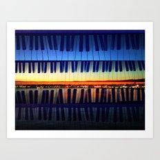 piano3 Art Print