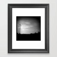 BLACK (PJ tribute) Framed Art Print