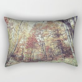"""Into the woods"" Autumn wander. Rectangular Pillow"