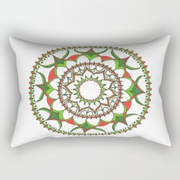 Geometric Christmas Rectangular Pillow
