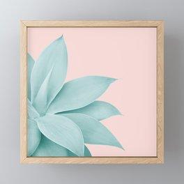 Agave Finesse #7 #tropical #decor #art #society6 Framed Mini Art Print
