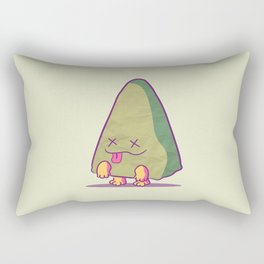 Zombie Triangle Rectangular Pillow