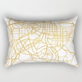 TAIPEI TAIWAN CITY STREET MAP ART Rectangular Pillow