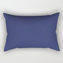 Cool patterns ~ THX 1138 Blue Rectangular Pillow